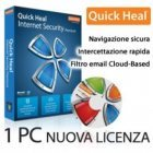 QUICK HEAL Antivirus Internet Security - Proteggiti dalle minacce invisibili